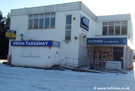 Old shop in Drumnadrochit  by Loch Ness