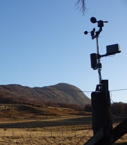 nessie on the Net Weather Station